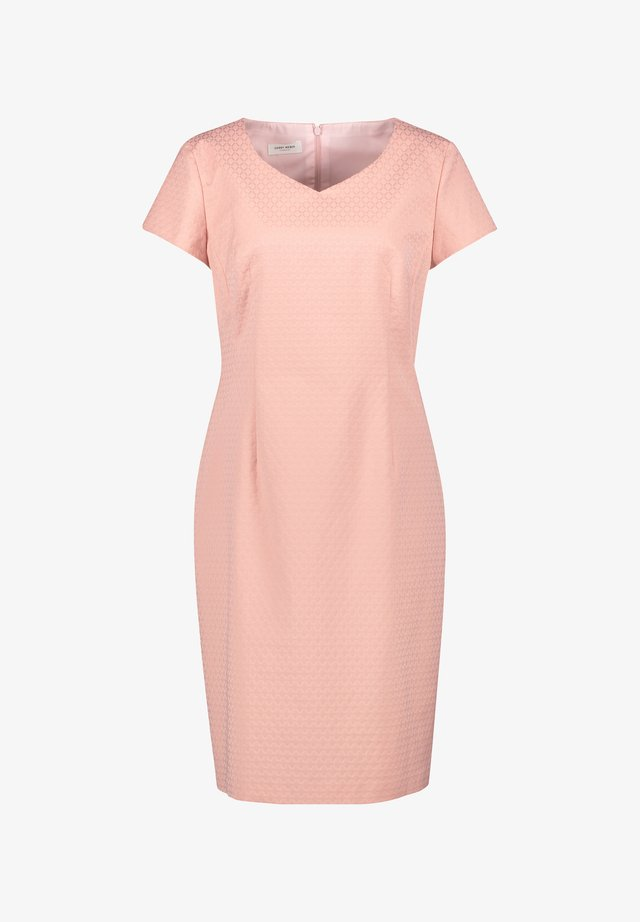 Shift dress - pastel rose