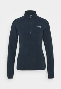 The North Face - 100 GLACIER 1/4 ZIP - Fleecetrøjer - urban navy - 4