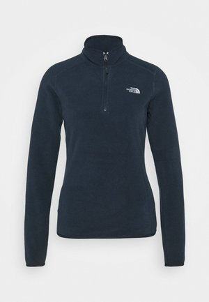 WOMENS GLACIER ZIP - Fleecepaita - urban navy