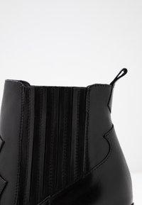 San Marina - AGUEDA - Boots à talons - black - 2