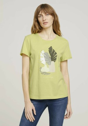 Camiseta estampada - celery ice