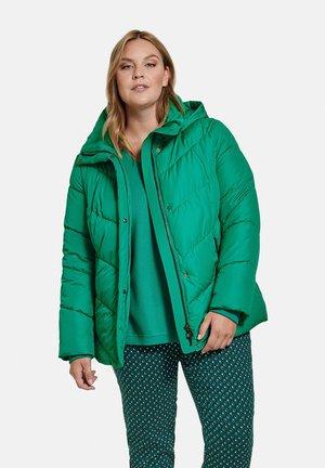 Winterjas - electric green