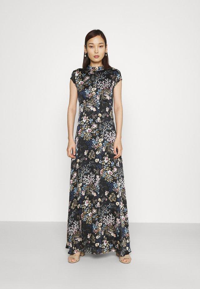 VIGILLAS CAP SLEEVE DRESS - Robe longue - black