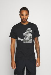 Jordan - M J PHOTO  - Print T-shirt - black - 0