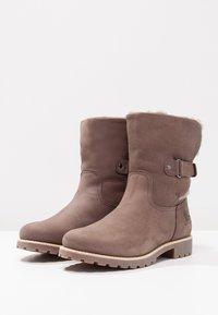 Panama Jack - FELIA IGLOO - Cowboy/biker ankle boot - gris - 2