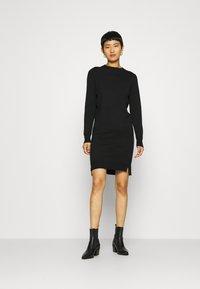 Saint Tropez - DAVILA DRESS - Jumper dress - black - 1