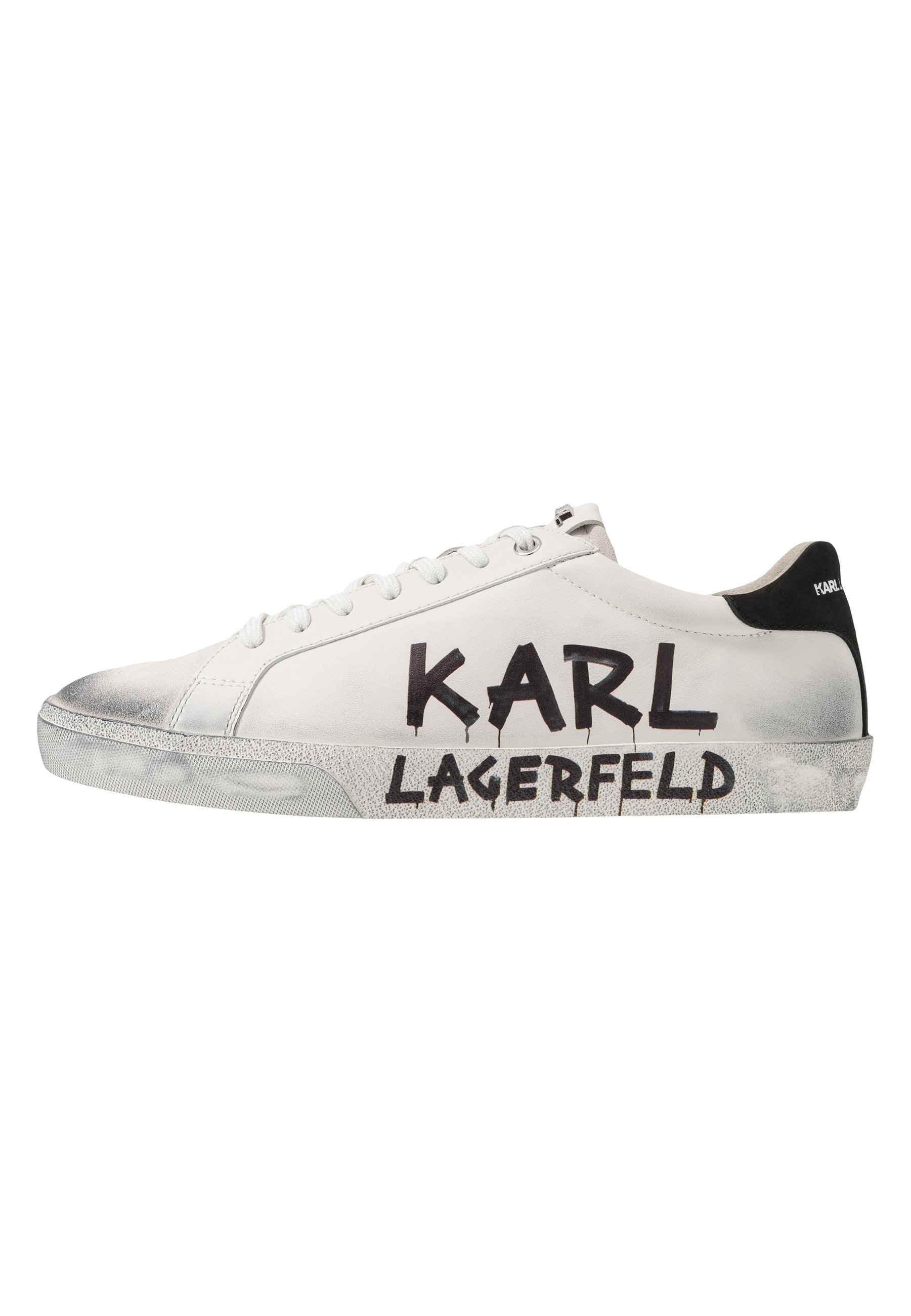 KARL LAGERFELD KOURT MAISON LACE Joggesko white Zalando.no