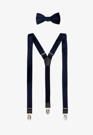 ONSBOWTIE SUSPENDER SET - Belt - navy