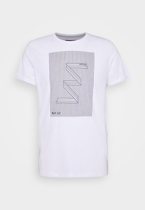 EASON - T-Shirt print - optical white