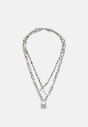 NECKLACE UNISEX - Necklace - silver-coloured