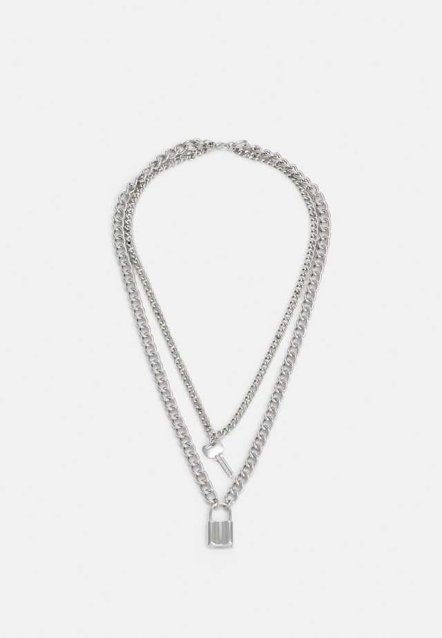 NECKLACE UNISEX - Halskæder - silver-coloured