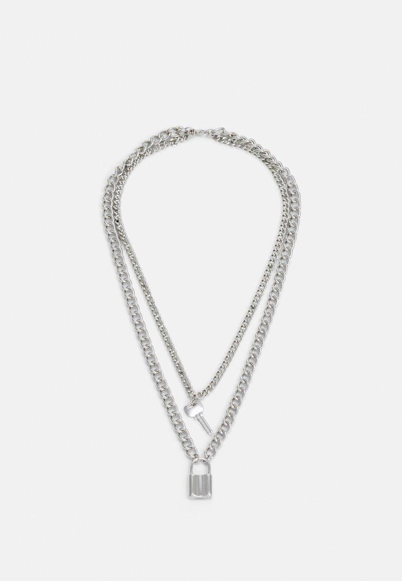 Vintage Supply - NECKLACE UNISEX - Verižica - silver-coloured