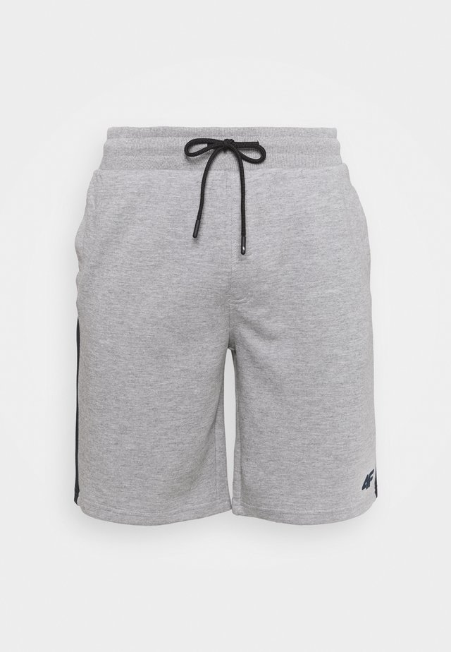 Men's sweat shorts - Sports shorts - grey