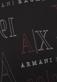 Armani Exchange - Polo shirt - black/red heritage - 4