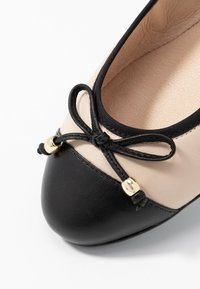 Caprice - Ballet pumps - black/beige - 2