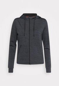 ONLY Play - ONPORLANA ZIP HOOD - Zip-up sweatshirt - black melange - 5
