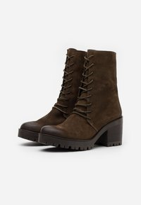 Felmini - COSMO - Platform ankle boots - marvin olive - 2