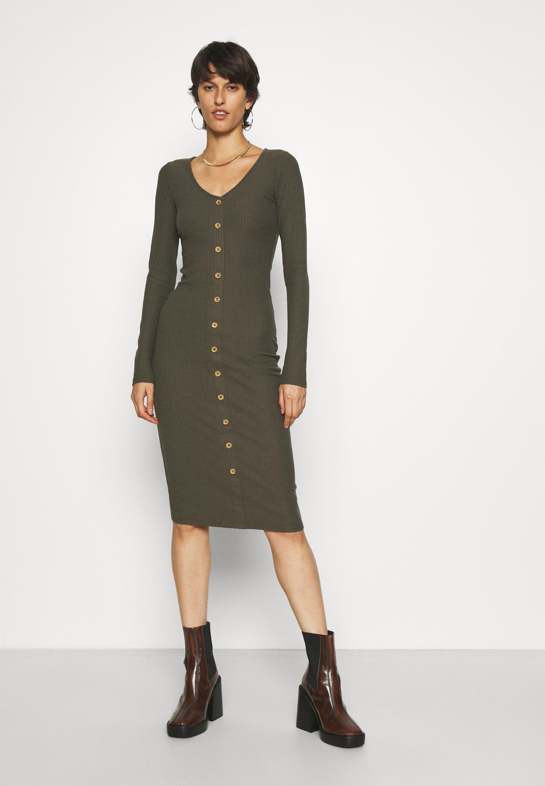 Mujer ONLNELLA BODYCON DRESS - Vestido de tubo