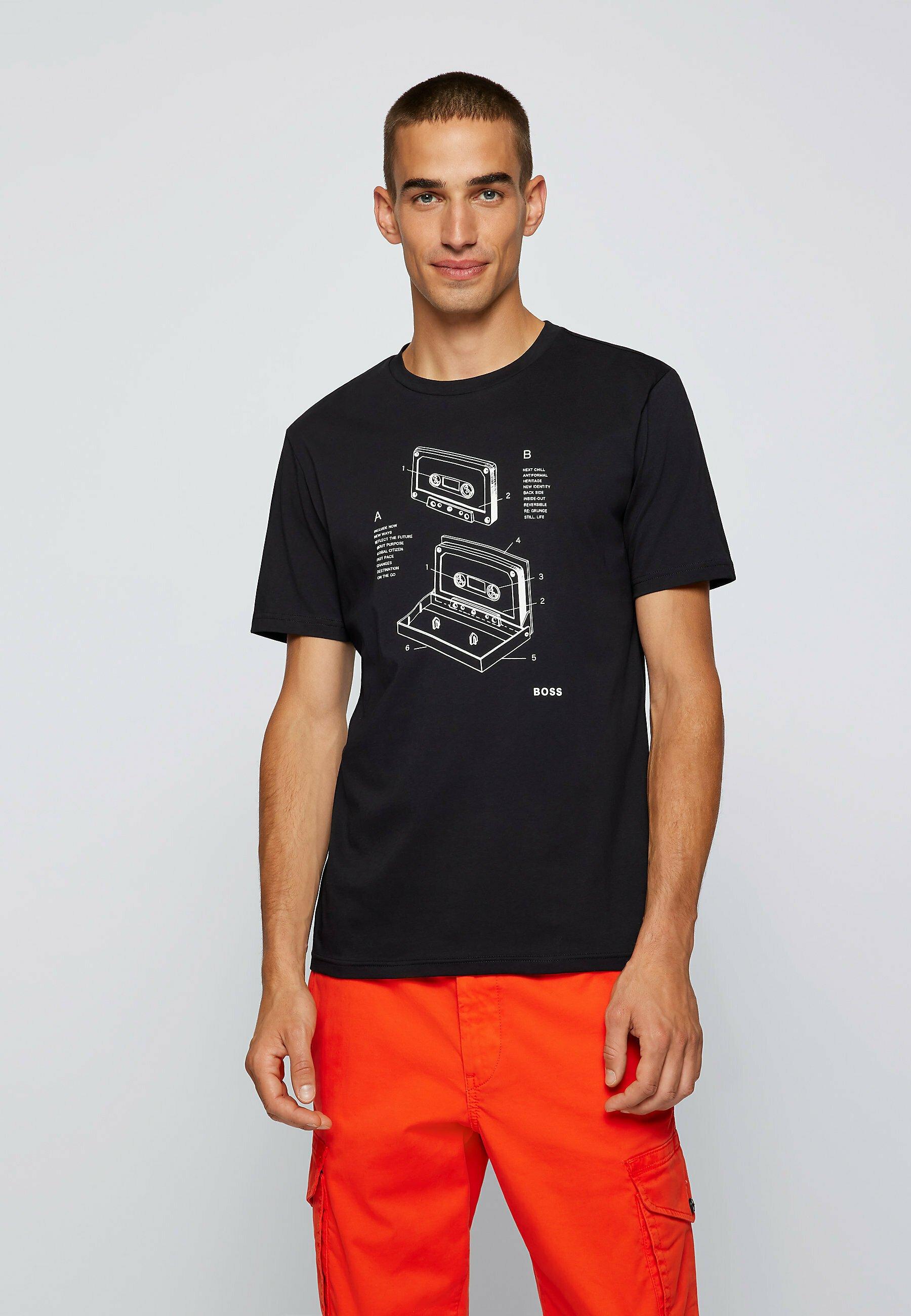 Homme TCASETTE - T-shirt imprimé