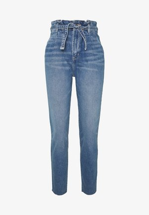 CHASE MOM  - Slim fit jeans - light blue denim