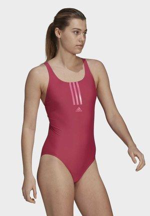 ADIDAS SH3.RO MID 3-STREIFEN BADEANZUG - Swimsuit - pink
