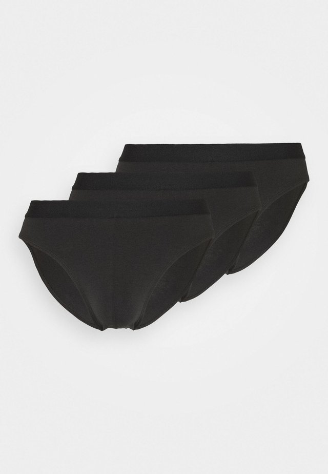 3 PACK - Slip - black
