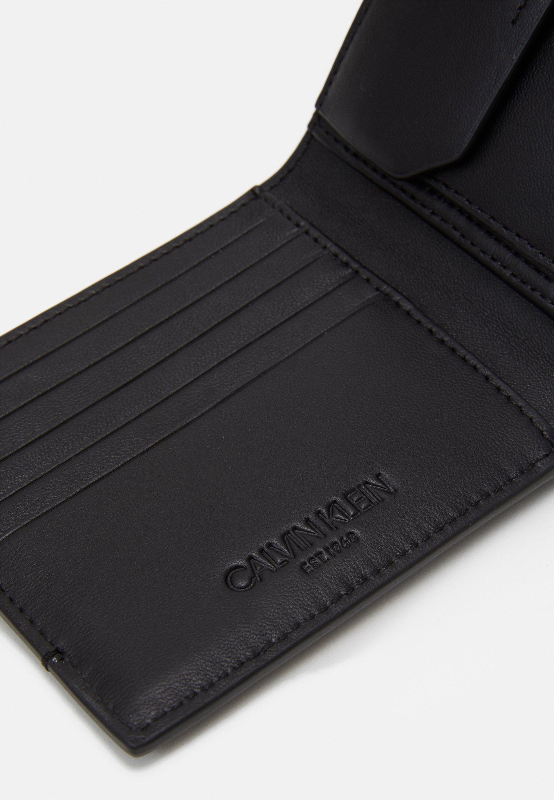 Tania cena Gorąca wyprzedaż Calvin Klein BIFOLD COIN - Portfel - black | Akcesoria męskie 2020 y58r0