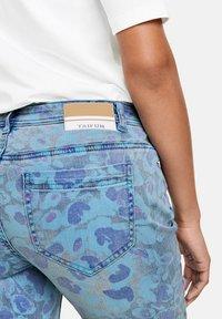 Taifun - Jeans Skinny Fit - blue denim gemustert - 2