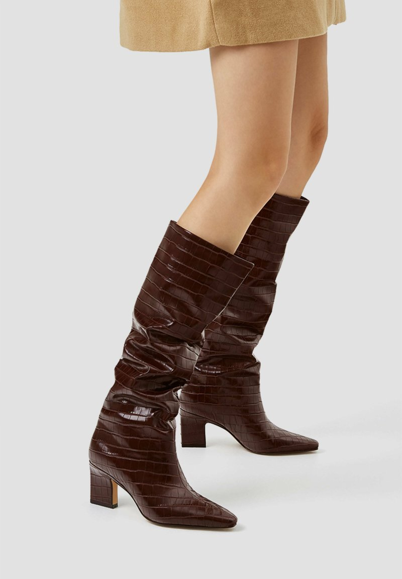 PULL&BEAR - Boots - brown