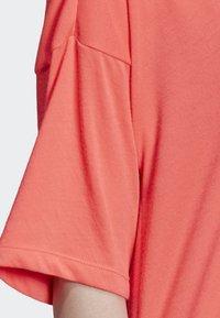adidas Originals - TREFOIL DRESS - Jersey dress - orange - 5