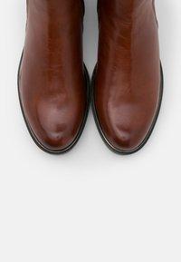 Caprice - Vysoká obuv - cognac - 5
