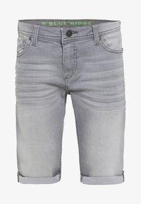 WE Fashion - WE FASHION JONGENS SLIM FIT DENIMSHORT - Jeansshort - light grey - 2