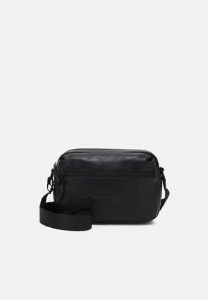 SOFT BAG UNISEX - Across body bag - black