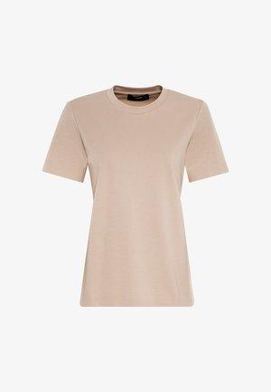 INTERLOCK - T-shirt basic - milchkaffee