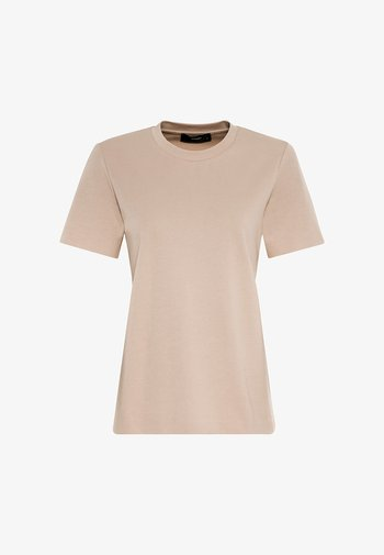 INTERLOCK - Basic T-shirt - milchkaffee