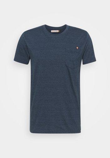 REGULAR - Print T-shirt - navy-mel