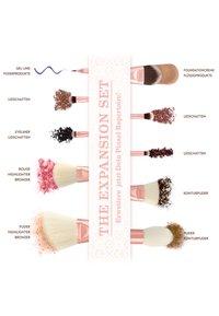 Luvia Cosmetics - EXPANSION SET - Zestaw pędzli do makijażu - rose golden vintage - 1