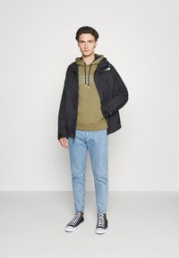 Calvin Klein - TRIPLE CENTER LOGO HOODIE - Sweatshirt - green - 1