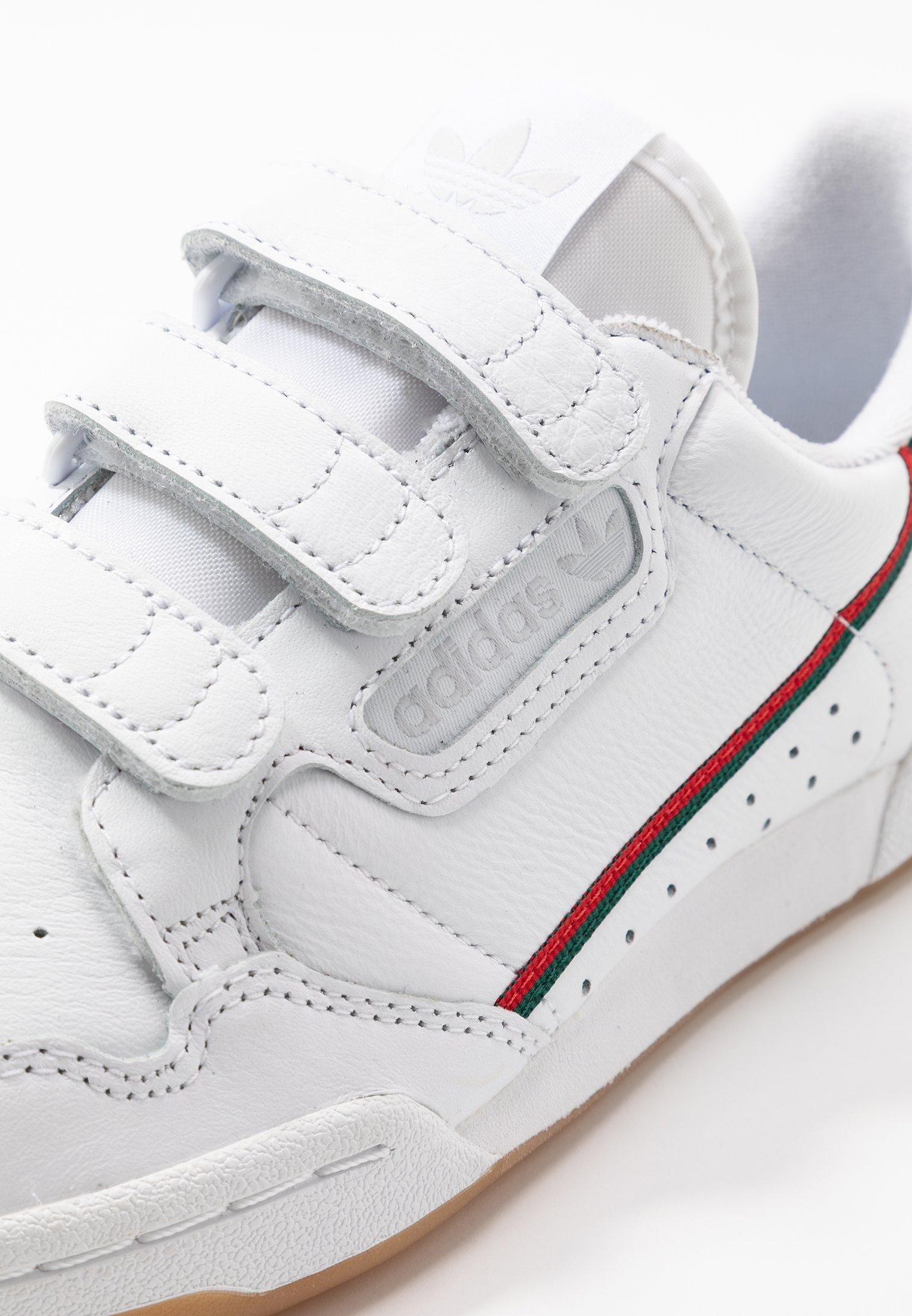 adidas Originals CONTINENTAL - Baskets basses - footwear white ...
