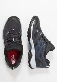 The North Face - HEDGEHOG FASTPACK GTX - Hiking shoes - ebony grey/shady blue - 1