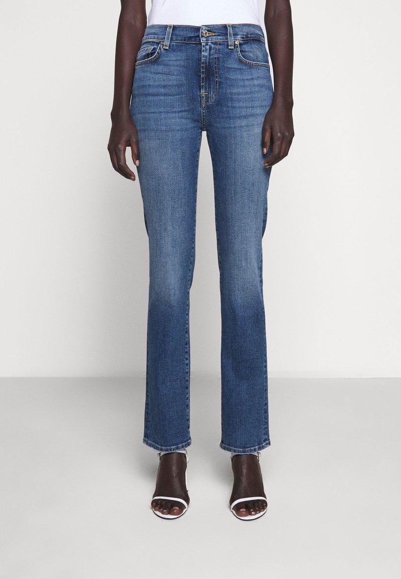 7 for all mankind - Straight leg jeans - light blue
