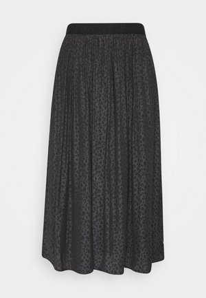 MOCKY - A-line skirt - black