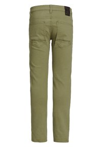 WE Fashion - Slim fit jeans - army green - 4