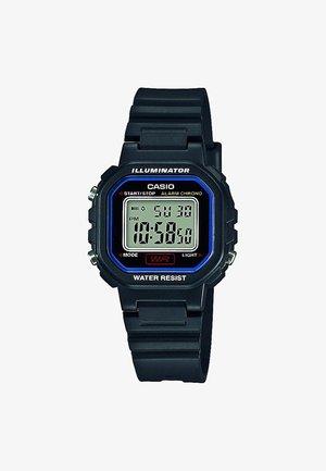 Digitální hodinky - black