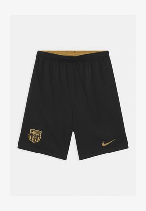 FC BARCELONA UNISEX - Sports shorts - black/metallic gold