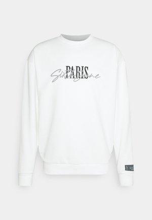 SIGNATURE PARIS - Sweatshirt - off-white