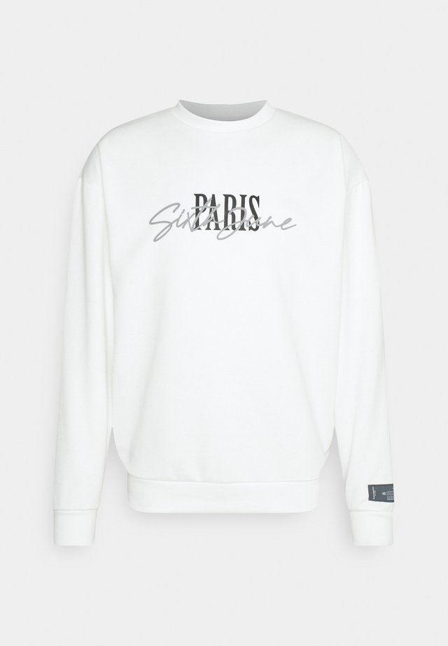 SIGNATURE PARIS - Sweatshirt - off-white