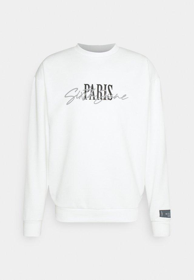 SIGNATURE PARIS - Bluza - off-white