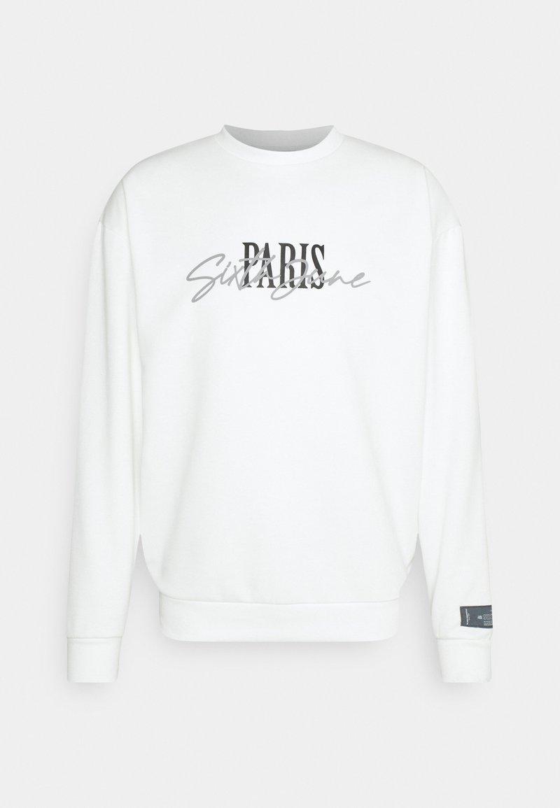 Sixth June - SIGNATURE PARIS - Sweatshirt - off-white