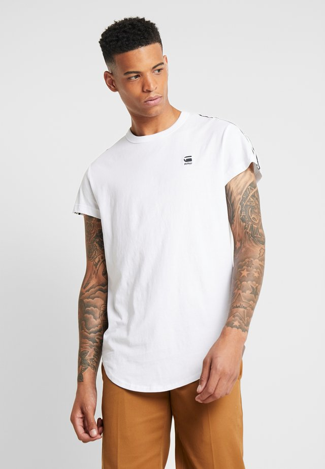 SWANDO ART RELAXED - T-shirt con stampa - white